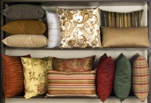 Fabricações e Revestimentos em Puffs, Futons e Almofadas Decorativas